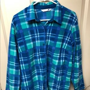 Fuzzy flannel! So comfy and vibrant colors